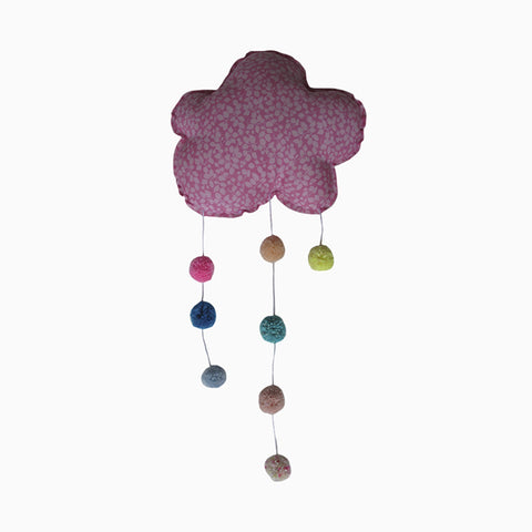 pompom cloud mobile (bright liberty)