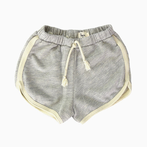 kula runner short (heather)