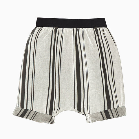 baby tuareg shorts (light stripes)