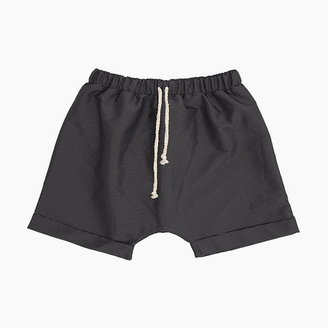 baggy bathing shorts (black)