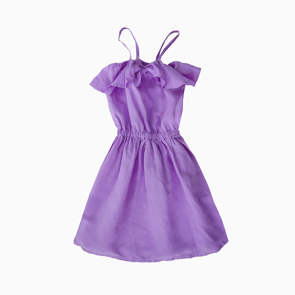 luau knot dress (orchid)