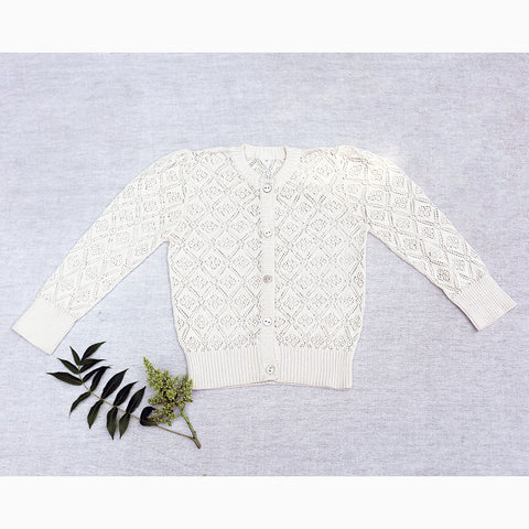rose lace cardigan