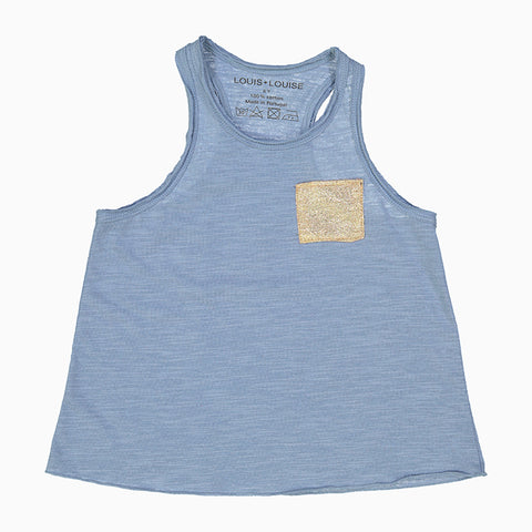 piscine tee shirt (light blue)