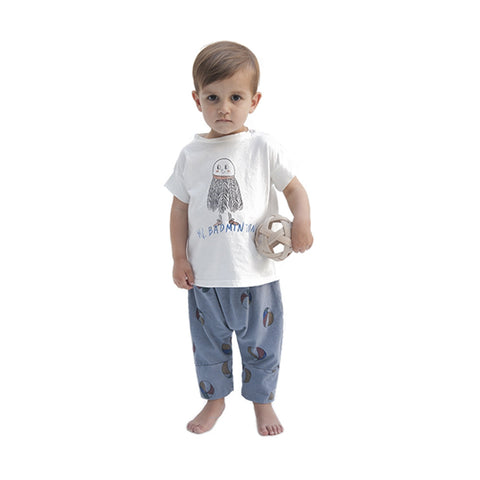 basket ball baggy baby trousers
