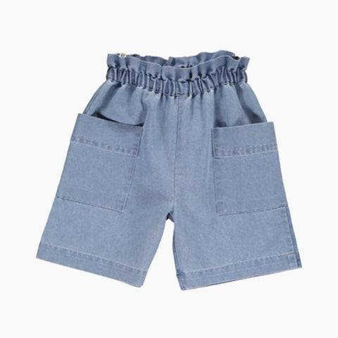 lotte denim shorts