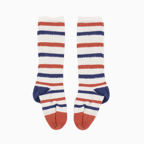 stripe tennis socks
