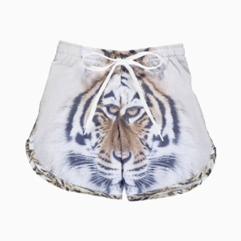 long swim shorts (tiger)