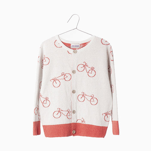 the cyclist knit cardigan