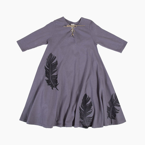 twirl dress (vintage grey)
