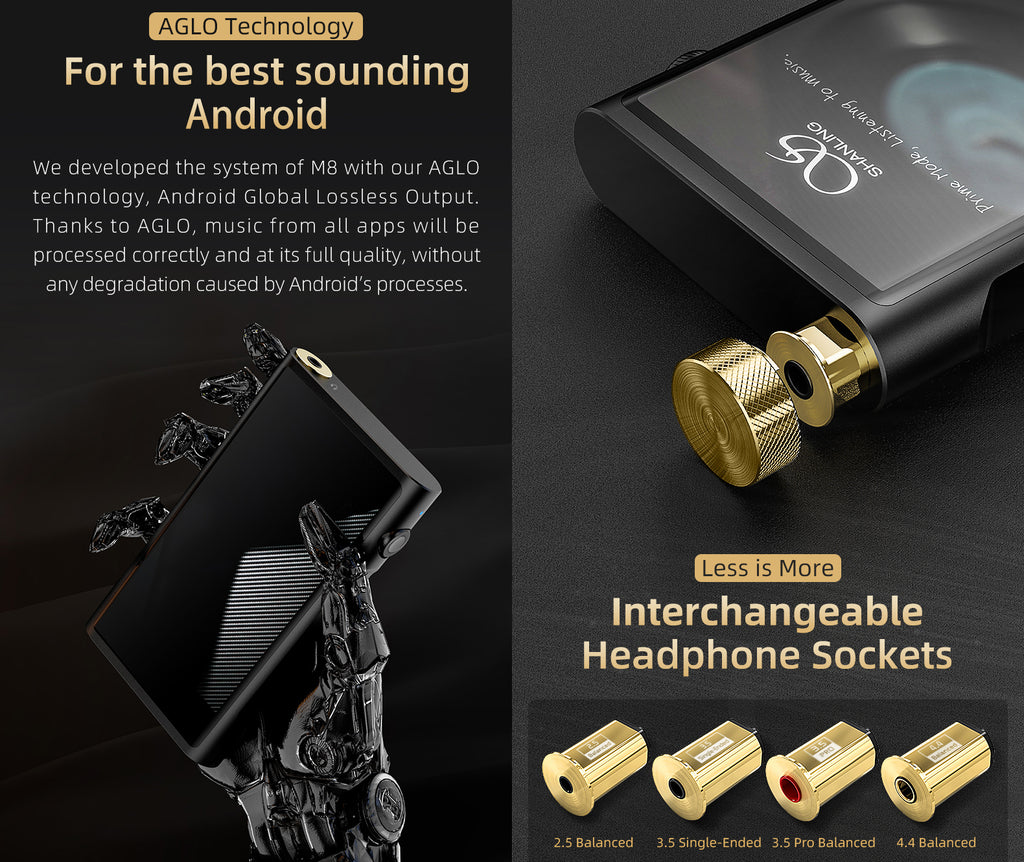 Shanling M8 Digital Audio Player - MusicTeck