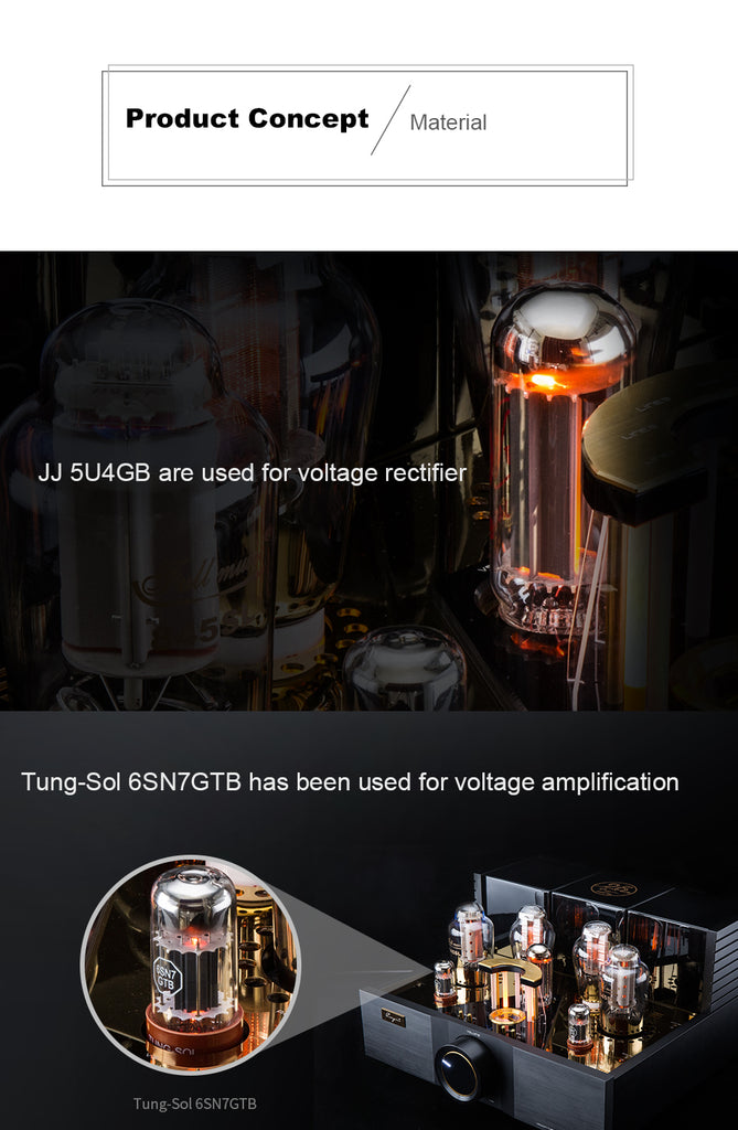 Cayin A-845Pro Vacuum Tube Integrated Amplifier - MusicTeck