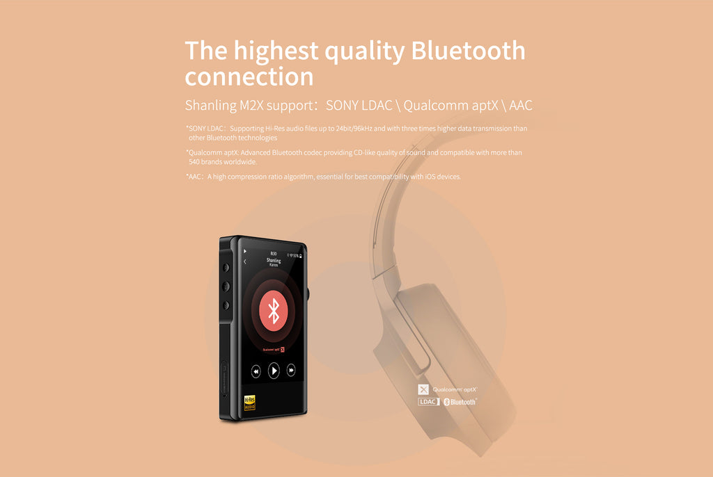 Shanling M2X Portable Music Player - MusicTeck