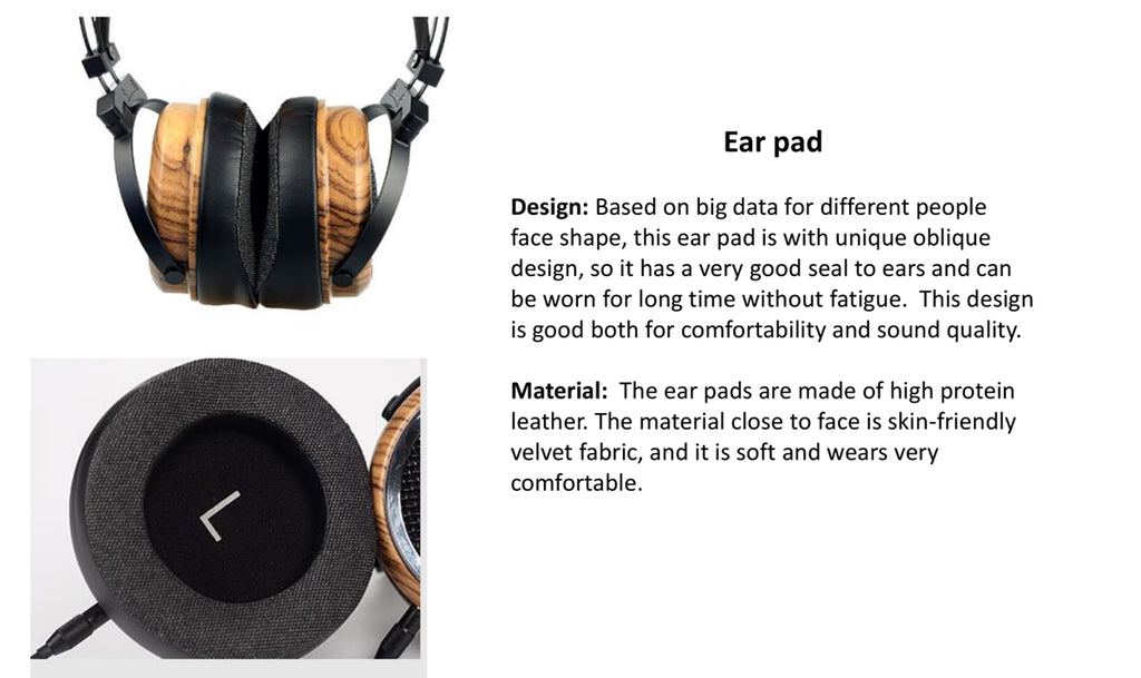 SIVGA Phoenix over the ear open back zebra wood dynamic/moving-coil driver headphones - MusicTeck