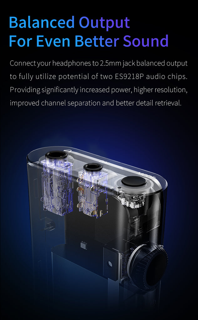 Shanling UP4 Bluetooth Headphone Amp - MusicTeck