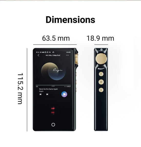 Cayin N3Pro Fully Balanced Dual Timbre Portable Digital Audio Player - MusicTeck