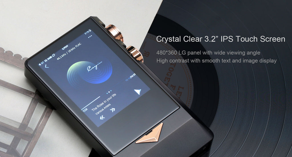 Cayin N8 Brass Black Master Quality Digital Audio Player