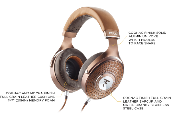 Focal Stellia Closed-Back Circum-Aural Over-Ear Headphones - MusicTeck