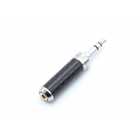 Effect Audio Ultrashort CF Straight 2.5mm to 4.4mm Adaptor - musicteck