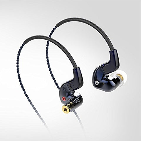 FLC8s Hybrid Dual Balanced Armature Dynamic Earphones with 3.5mm Plug - MusicTeck