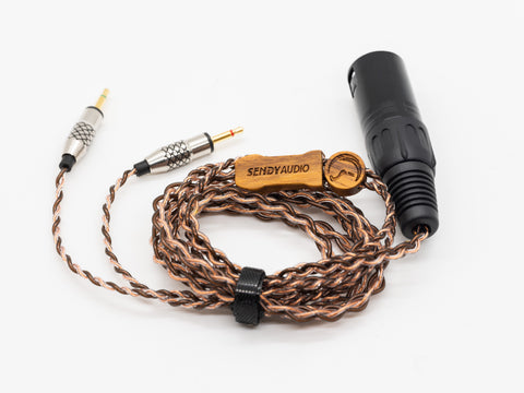 SendyAudio Asura Upgrade cable (7N-OCC) for AIVA 4Pin XLR (1.5m)