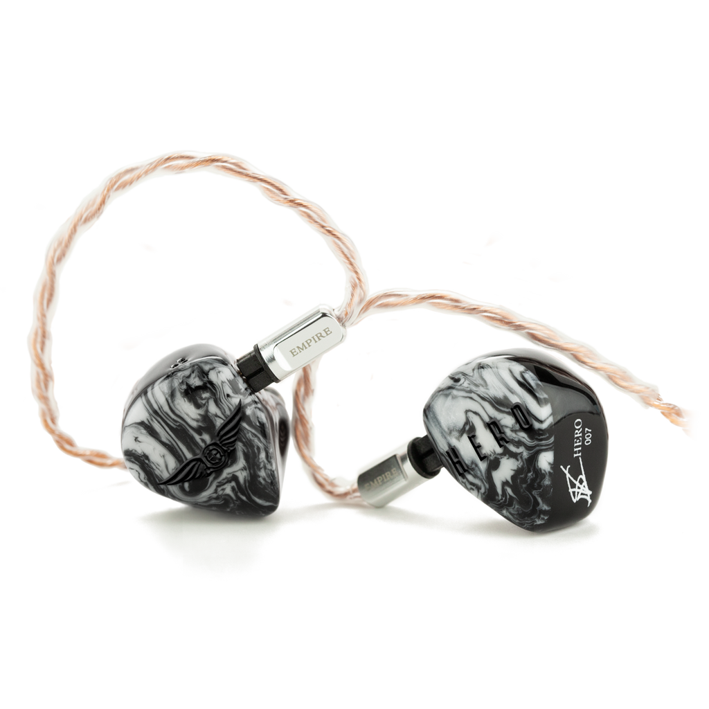 Empire Ears HERO Balanced Armature + Dynamic Universal IEMS, Founder's Edition - MusicTeck