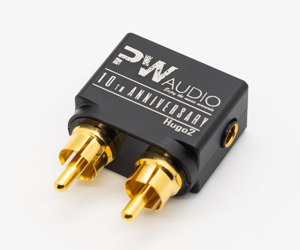 PWAudio Hugo2 RCA to 4.4mm female single end adapter