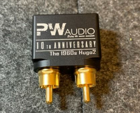 PWAudio Hugo2 RCA to 4.4mm female single end adapter - The 1950s Version