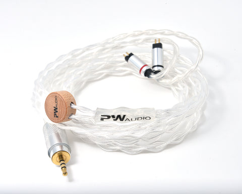 PWAudio No.10 upgrade cable (4 wired) - MusicTeck