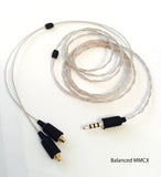 Linum Ultra-Thin Cable with MMCX or 2-Pin Connector - MusicTeck