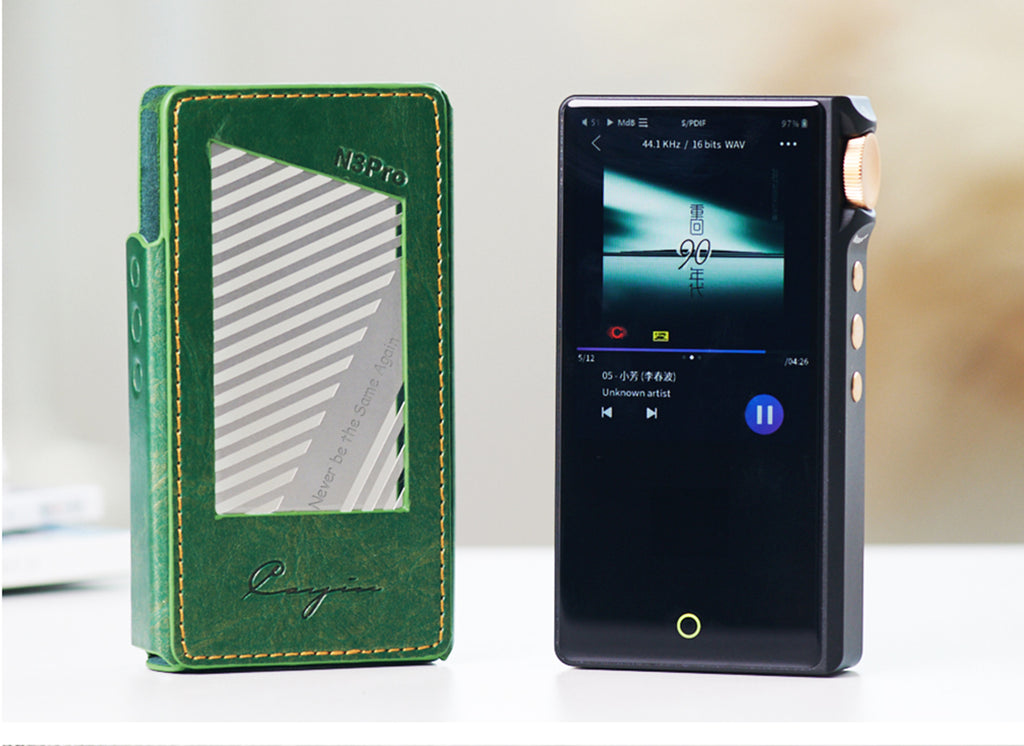 Cayin N3Pro Fully Balanced Dual Timbre Portable Digital Audio Player with Free Leather Case - MusicTeck