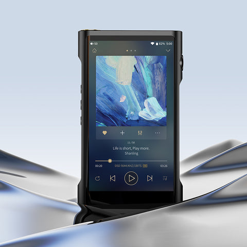 Shanling M8 Digital Audio Player with Free Leather Case - MusicTeck