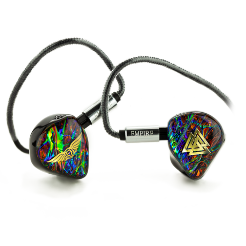 Empire Ears ODIN Tribrid Electrostatic, BA, + Dynamic Universal IEMS, Founder's Edition - MusicTeck