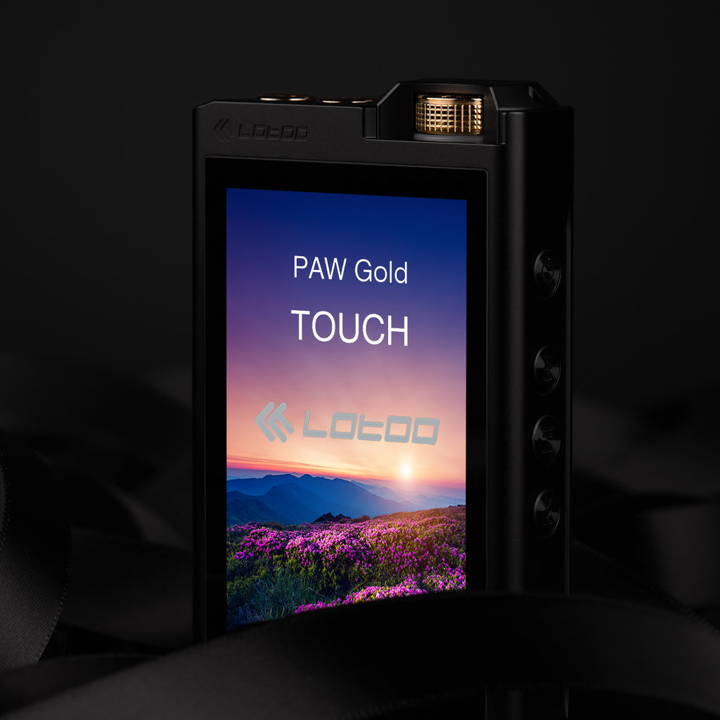Lotoo Paw Gold Touch Reference Portable Hi-Fi Player