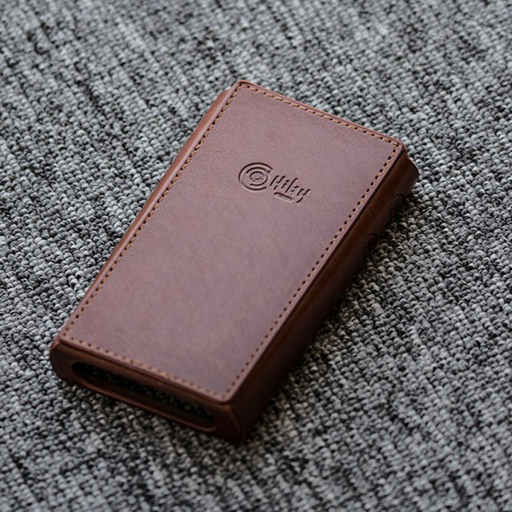 HiBy R5 Portable Music Player PU Leather Case - MusicTeck