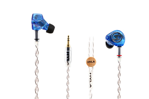 HYLA AUDIO Piezoelectric Ceramic Diaphragm Hybrid Earphone HYLA TE5B