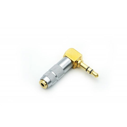 Effect Audio Ultrashort Right Angled 2.5mm to 3.5mm Adaptor - MusicTeck