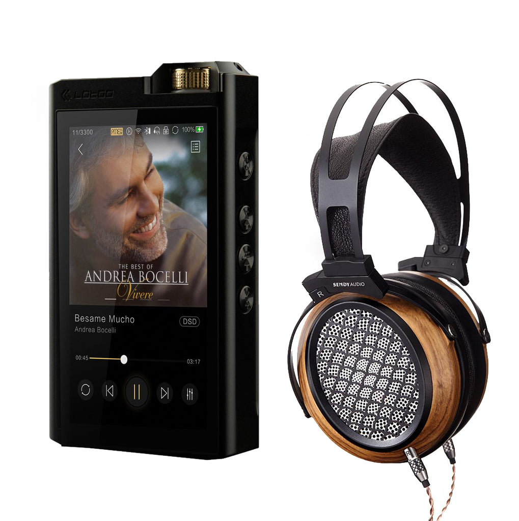 Lotoo Paw Gold Touch Reference Portable Hi-Fi Player (English Version) + Free SendyAudio Aiva Planar Magnetic Headphones value $599