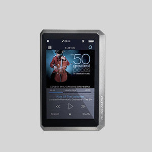 OPUS#1 Metal Premium, Portable Mastering Quality Sound (MQS) Audio Player with free leather case