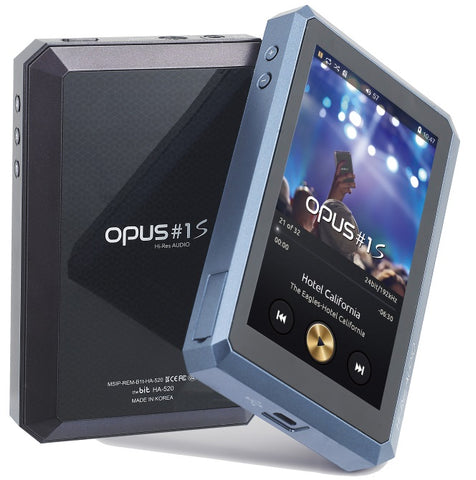 OPUS#1S Hi-Res Portable Digital Audio Player with FREE Leather Case - MusicTeck