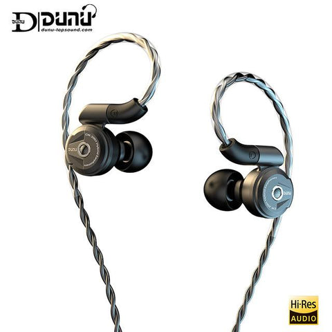 DUNU DK 2001 3BA +1DD Hybrid Drivers In Ear Earphone - MusicTeck