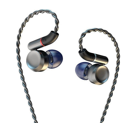 DUNU LUNA Pure Beryllium Dynamic Titanium Alloy Flagship In-ear Earphone - MusicTeck