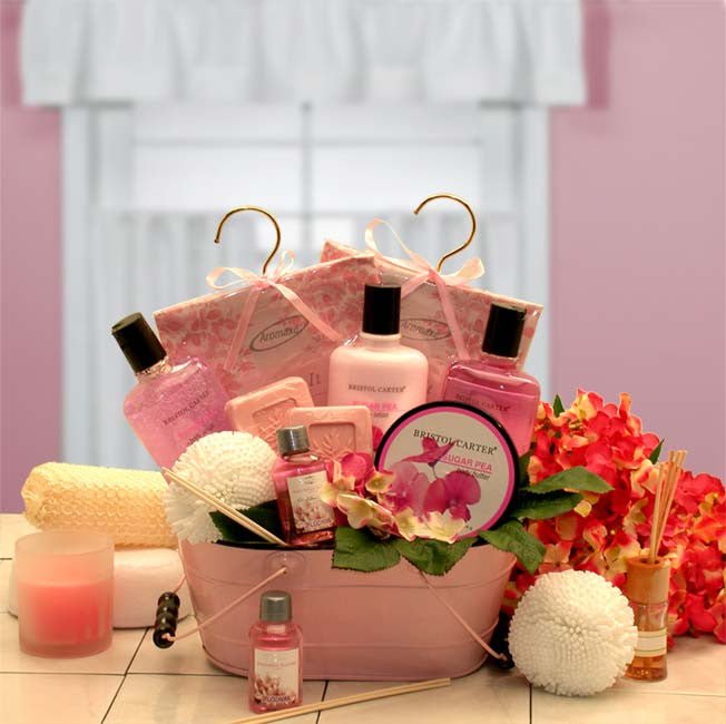Pretty in Pink Relaxation Gift Set