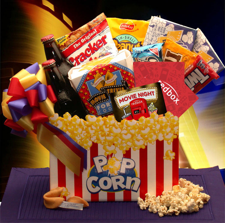 Movie Night Mania  Gift Box - 10.00 Redbox Gift Card