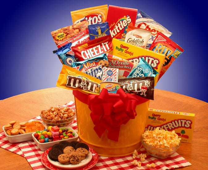 Junk Food Madness Gift Pail
