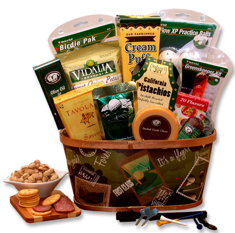 A Hole in One! Golf Gift Basket