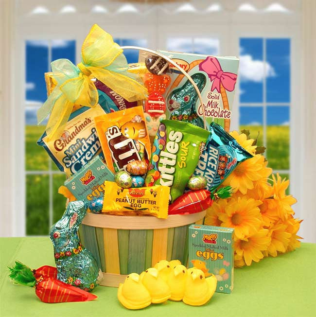 An Easter Sweets N Treats Gift Basket