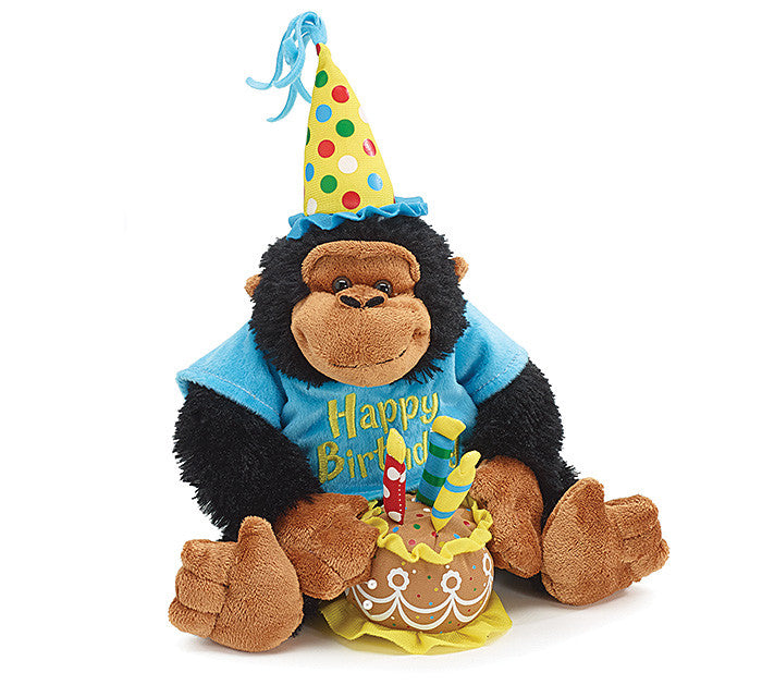 Happy Birthday Musical Monkey