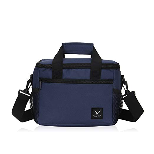 Lightweight Insulated Lunch Bag 10 Can Capacity Cooler Bag