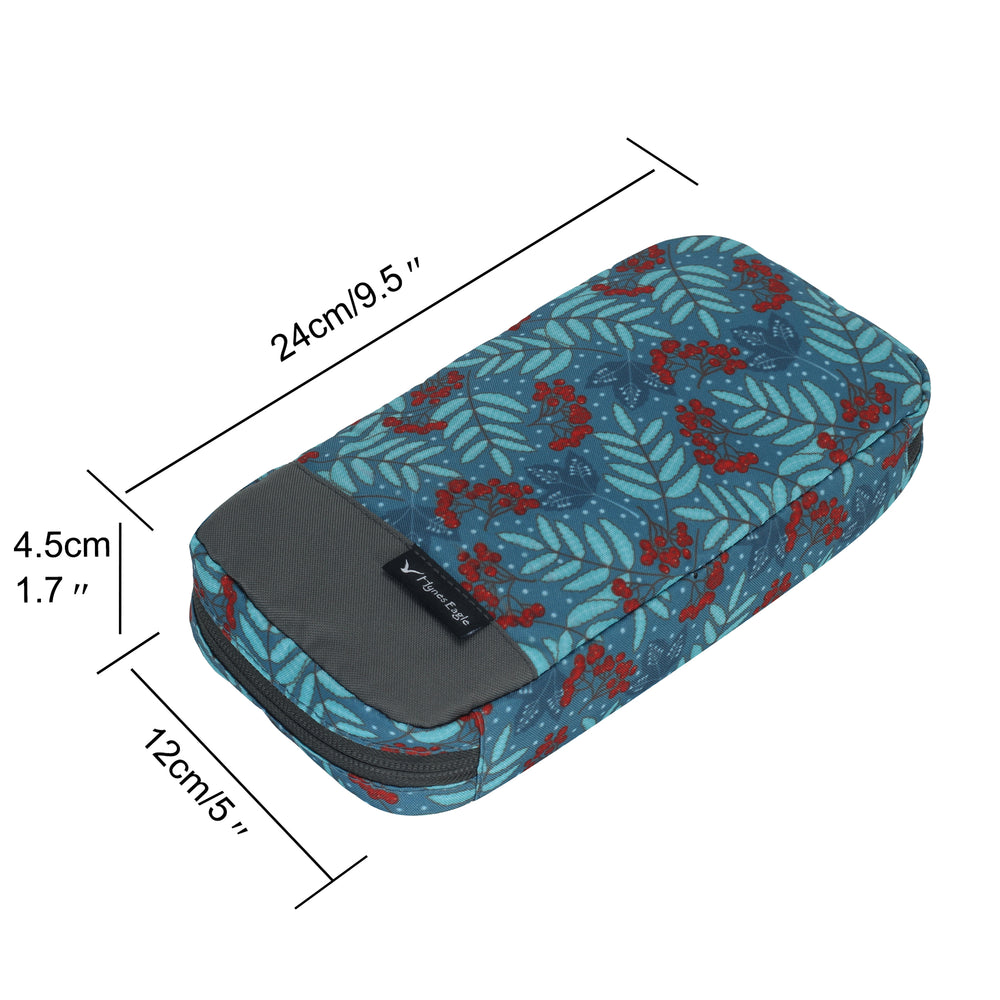 Lightweight Portable Travel Electronics Organizer
