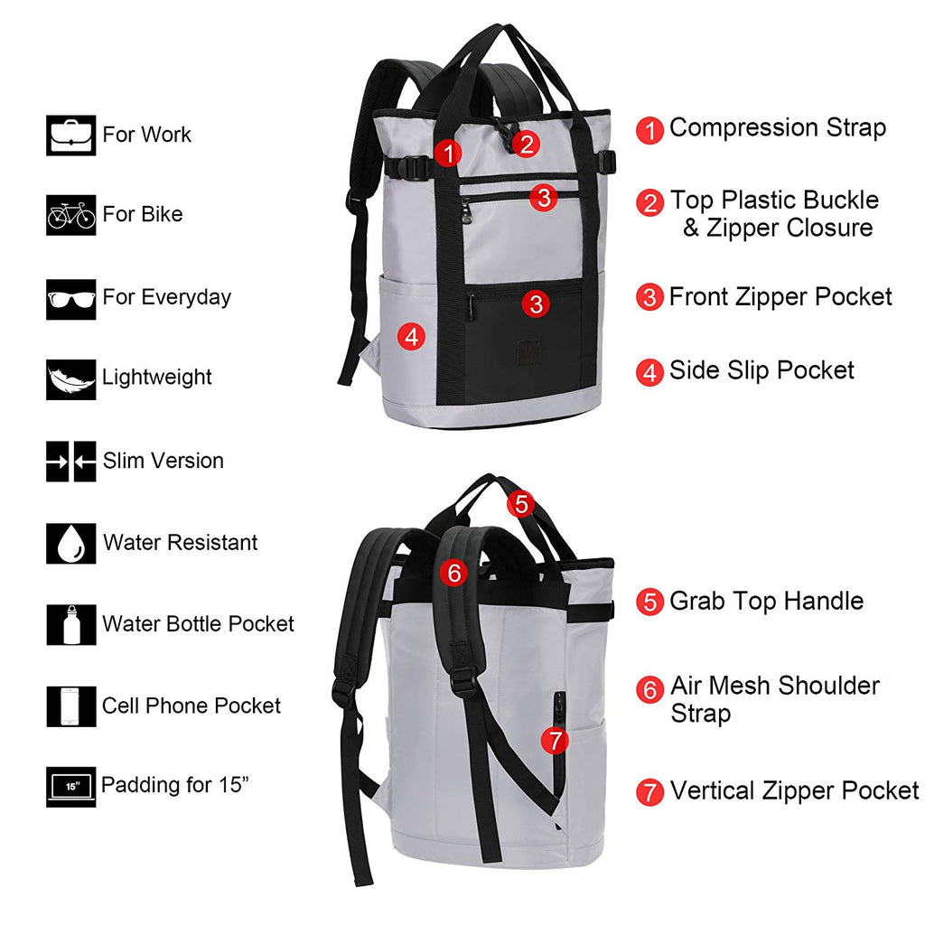 Travel Backpack Lightweight Daypack 19L